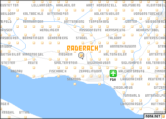 map of Raderach