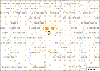 map of Radisch