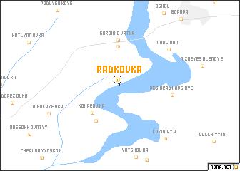 map of Rad'kovka