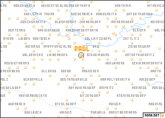 map of Radl