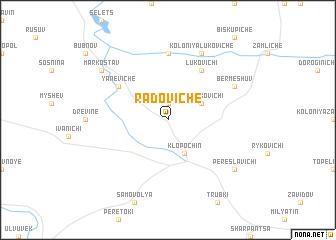 map of Radoviche