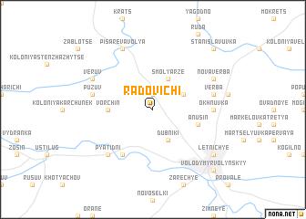 map of Radovichi