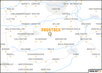 map of Radstock