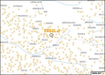 map of Radulji