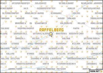 map of Raffelberg