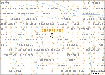 map of Raffelegg