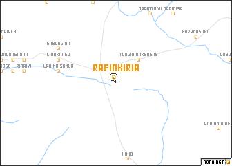 map of Rafin Kiria