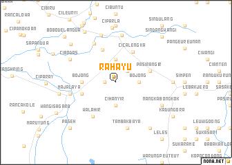 map of Rahayu
