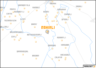 map of Rǝhimli