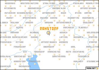 map of Rahstorf