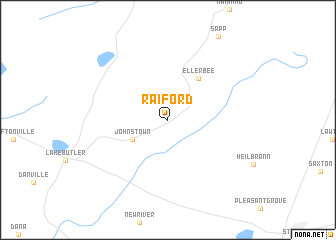 map of Raiford