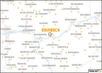 map of Rainbach