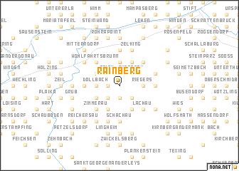 map of Rainberg