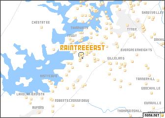 map of Raintree East