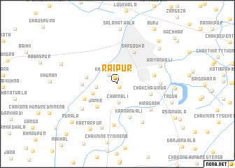 map of Raipur
