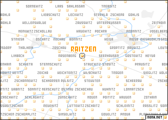map of Raitzen