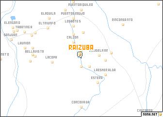 map of Raizuba