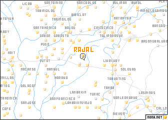 map of Rajal