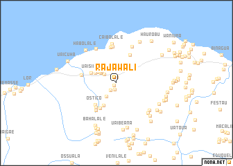 map of Rajawali