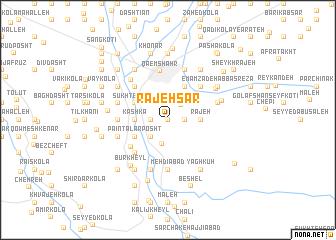 map of Rajeh Sar
