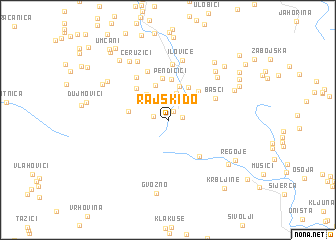 map of Rajski Do
