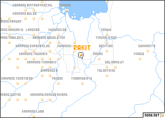 map of Rakit