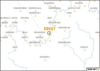 map of Rakut