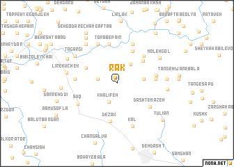 map of Rāk
