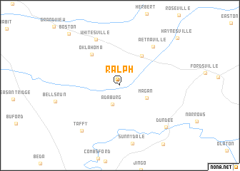 map of Ralph