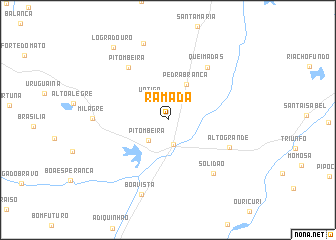 map of Ramada