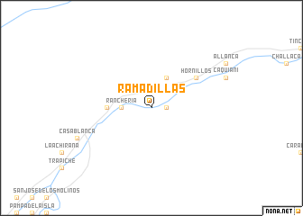 map of Ramadillas