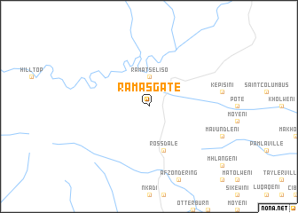 map of Ramas Gate