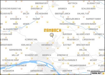 map of Rambach