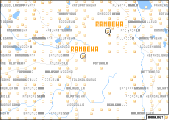 map of Rambewa