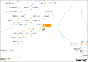 map of Rambrán