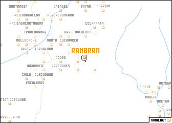 map of Rambrán