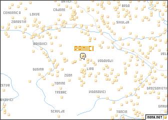 map of Ramići