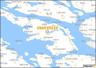 map of Ramnanger