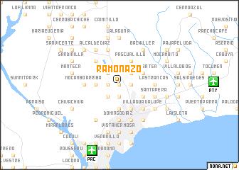 map of Ramonazo