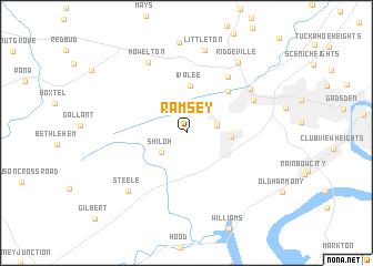 map of Ramsey