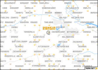 map of Ramsin