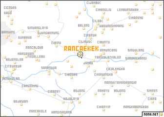 Locmap Rancaekek Map Of