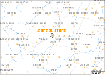 map of Rancalutung
