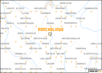 map of Rancholindo