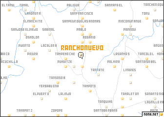 map of Rancho Nuevo