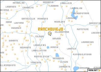 map of Rancho Viejo