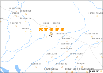 map of Rancho Viejo
