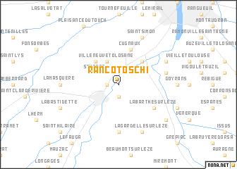 map of Rancotoschi