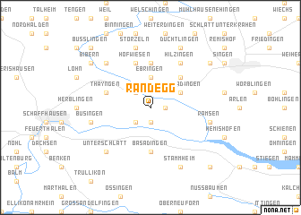 map of Randegg