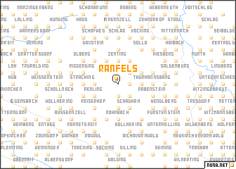 map of Ranfels